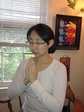 Reiki Gassho meditation in Atlanta