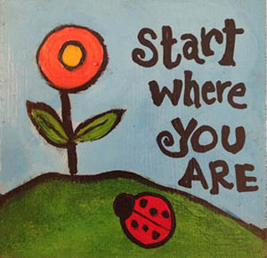 Start Where You Are - Reiki and Hypnosis